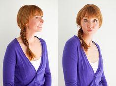Meta Hair Hacks: 3 Ways to Style Braids in Braids via Brit + Co. Headband Hairstyles, Down Hairstyles, Easy Hairstyles, Beautiful Hairstyles, Rainy Day Hairstyles, Waist Length Hair, Pretty Braids, Lace Braid, Let Your Hair Down
