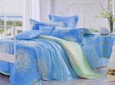 Duvet, Quilt Cover, Small Flowers, Cool Stuff, Stuff To Buy, Comforters, Blue Green, I Am Awesome, Master Bedroom
