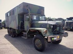 1971 Kaiser Jeep M291A2C Van Truck on GovLiquidation. Be prepared for anything with this truck!
