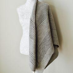 Corner Brook shawl pattern by Allison O'Mahony