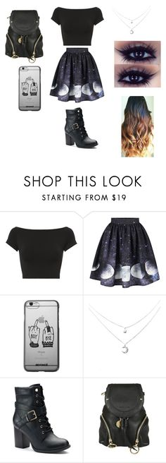 """""""Idk"""" by malaysiasmith00-1 ❤ liked on Polyvore featuring Helmut Lang, Apt. 9 and See by Chloé"""