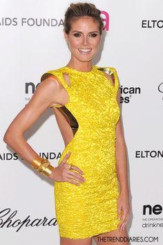 modern yellow dress