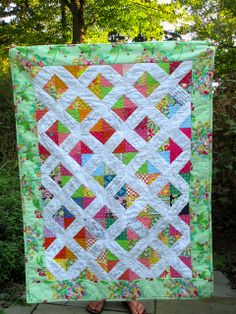 Signature Quilt for a Bride-to-Be by Julie Antinucci, via Flickr