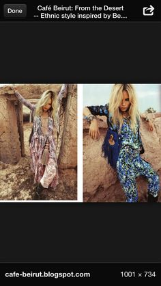 Moroccan fashion Moroccan Style, Ethnic Fashion, Photo Sessions, Kimono Top, Cover Up, Ford, Bohemian, Photoshoot, Style Inspiration