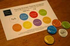 YW Value Magnets- Cute for back to school- locker craft idea