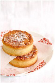 Cherry coconut bakewell tarts