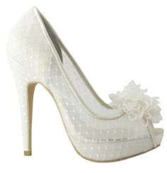 Bridal shoes (ADELIA, Menbur)