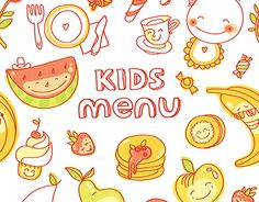 "Check out new work on my @Behance portfolio: ""Kids Menu vector illustrations set"" http://be.net/gallery/34349319/Kids-Menu-vector-illustrations-set"