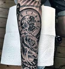 Afbeeldingsresultaat voor tatoeage zakhorloge