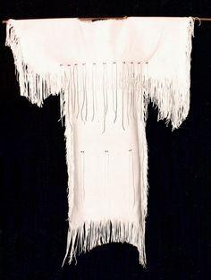 Cherokee Indian Women Clothing | Basic Deerskin Dresses Painted Deerskin Dresses Painted & Beaded ...