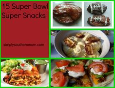 Super Bowl Super Snacks, Dips & Appetizers #sb48  10 recipes for your super bowl party simplysouthernmom.com