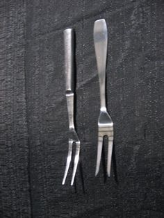 Serving Forks Forks, Carving, Tableware, Style, Swag, Bobby Pins, Dinnerware, Stylus, Wood Carving