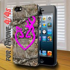 Browning Deer Camo - design case for iphone 4,4s | shayutiaccessories - Accessories on ArtFire