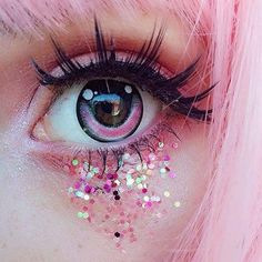 Image about love in Beautiful dressed,girl pic, make up,nails by KHUSHI Makeup Inspo, Makeup Art, Makeup Inspiration, Makeup Ideas, Anime Eye Makeup, Inspiration Quotes, Style Inspiration, Aesthetic Eyes, Aesthetic Makeup