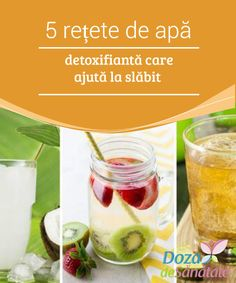 Cleanse Your Body and Lose Weight with These Five Detox Waters Bebidas Detox, Diet Planner, Cleanse Your Body, Lose Weight, Weight Loss, Food And Drink, Health Fitness, Healthy Recipes, Fruit