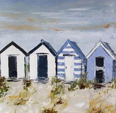 4 cabanes dans le vent