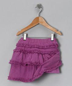 #fall #zulily purple skirt
