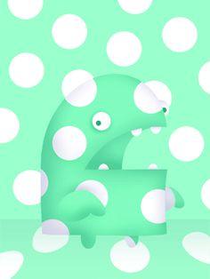 Polkadot Monster by Aaron Zenz