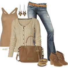 """""""Fall Neutral"""" by michelled2711 on Polyvore"""