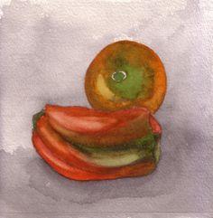 Cy Calfat - Watercolor