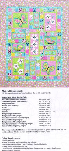 monster applique quilt pattern | Applique Patterns for Children - Erica's Craft & Sewing Center