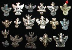 Rares, des formes inhabituelles [Garuda] (Garuda) tibétain: (Khyoung) [dieu tibétain du fer] (Thogchags)!