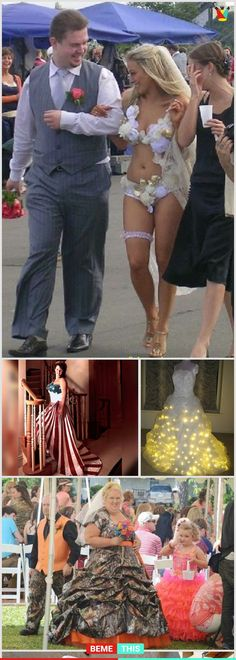 10+ Of The Most Insane Wedding Dresses That Will Make You Laugh