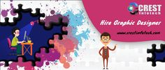 Crest Infotech holds extreme expertise in graphic designing and offers best solutions to its clients.