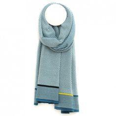 Gisela Winter green - scarves - La Femme Garniture