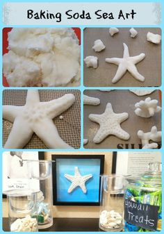 Baking Soda Dough Sea Art