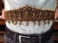 My gold nakashi waist belt