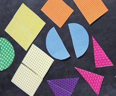 Com este material a brincadeira pode ser unir as peças construindo as formas geométricas, sem preocupação com a estampa, ou juntando as metades que corr...