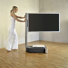 Fernsehschrank lcd  TV at the foot of your bed | DEFINITION AUTOMATION TV LIFTS ...