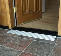Wheelchair ramps doorway transition. ask someone in a wheelchair to go on a tour with you of the entire church and see where changes should be made. there are a lot of inexpensive adaptations that can make a person feel more welcome and have the entire church be accessible.