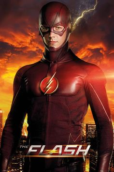 The Flash Barry Allen - plakat The Flash Poster, The Flash 2, The Flash Season 1, The Flash Logo, Flash Barry Allen, Flash Y Supergirl, Dc Comics Poster, Poster Poster, Series Dc
