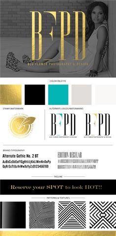 Branding & Identity Design for BFPD | Brand Board