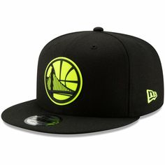 wholesale dealer 08cde 78f22 Men s Golden State Warriors New Era Black Yellow Logo Neon Pop 9FIFTY  Adjustable Snapback Hat, Your Price   31.99