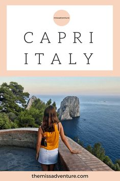 The MissAdventure inspires women to explore the globe together! European Travel Tips, Europe Holidays, Capri Italy, Places In Italy, Destin Beach, Top Destinations, Boat Tours, Beautiful Places To Visit, Nice View