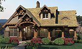 Elevation of Bungalow Cottage Craftsman Tuscan House Plan 65870 This is it! This is the house Jason and I are going to build! Tuscan House Plans, Cottage Floor Plans, Bungalow House Plans, Family House Plans, Craftsman Style House Plans, Country House Plans, Small House Plans, House Floor Plans, Craftsman Cottage