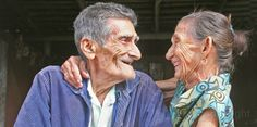 A true love story is growing old together!