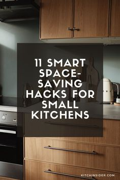 There are lots of ways you can make the most of the space in your small kitchen. Here, I've listed 11 smart space-saving hacks for small kitchens.They can all be used in any kitchen big or small if you want some additional storage or clever ideas to upgrade your kitchen life.