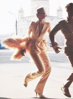 Al Stephens and Valentin Savchenko for V Magazine August 2009 // romance + fashion