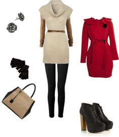"""Out for some pre-Xmas fun"" by diana-elena-712 ❤ liked on Polyvore"