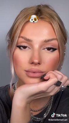 Kiss Makeup, Glam Makeup, Makeup Tips, Beauty Makeup, Eye Makeup, Makeup Looks Tutorial, Eyeliner Tutorial, Simple Makeup, Natural Makeup