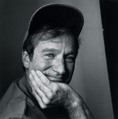 Robin Williams by Irvin Penn