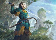 M high elf ranger fighter swordsinger