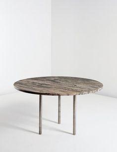 "PHILLIPS : NY050214, Martin Szekely, Prototype ""R.N.L."" dining table"
