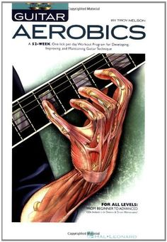 Guitar Aerobics: A 52-Week, One-lick-per-day Workout Program for Developing, Improving and Maintaining Guitar Technique by Troy Nelson, http://www.amazon.com/dp/1423414357/ref=cm_sw_r_pi_dp_hspRqb05EWX62