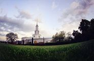 Download Desktop Wallpaper - Another great shot of an LDS Temple to put on your desktop.