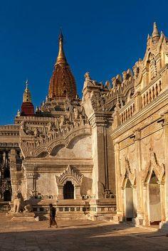 Ananda templr , Bagan , Myanmar.
